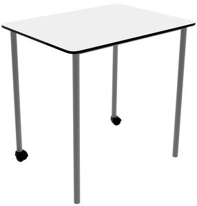 Titan Square Link Table - (w) 800 x (d) 800mm