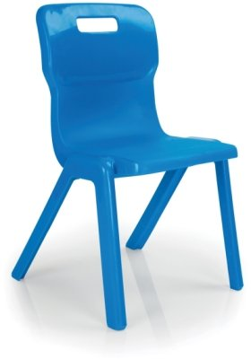 Titan+ Antibacterial One Piece Chair Size 6 (14+ Years)