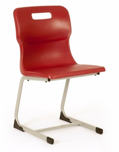 Titan Reverse Cantilever Classroom Chair T82 Size 5 Ages 9-13 Years Seat Height 430mm